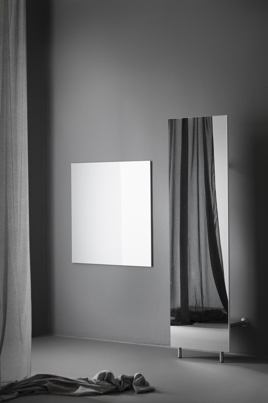 CHAT BOARD Wardrobe 60 Mirror + Classic Silver