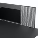CHAT-BOARD-SQUAD-Guard-1600-Black-RAL7021-front-detail-1
